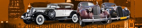 Vintage car Zug | classic car hire