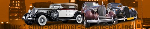 Vintage car Chur | classic car hire