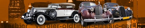 Vintage car Verbier | classic car hire