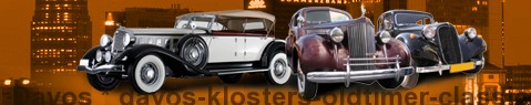 Vintage car Davos | classic car hire