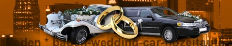 Wedding Cars Baden | Wedding limousine