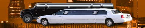 Stretch Limousine Italy | limos hire | limo service