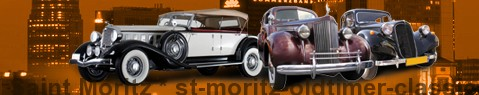 Vintage car Saint Moritz | classic car hire