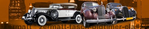 Vintage car Zermatt | classic car hire