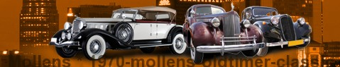 Voiture ancienne Mollens